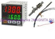 Терморегулятор TCN4S-24R с ПИД регулятором и датчиком PT100 (-40 +400)
