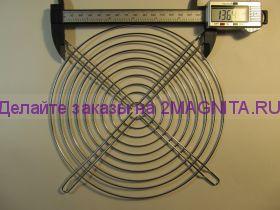 Решетка на вентилятор 200х200 металл